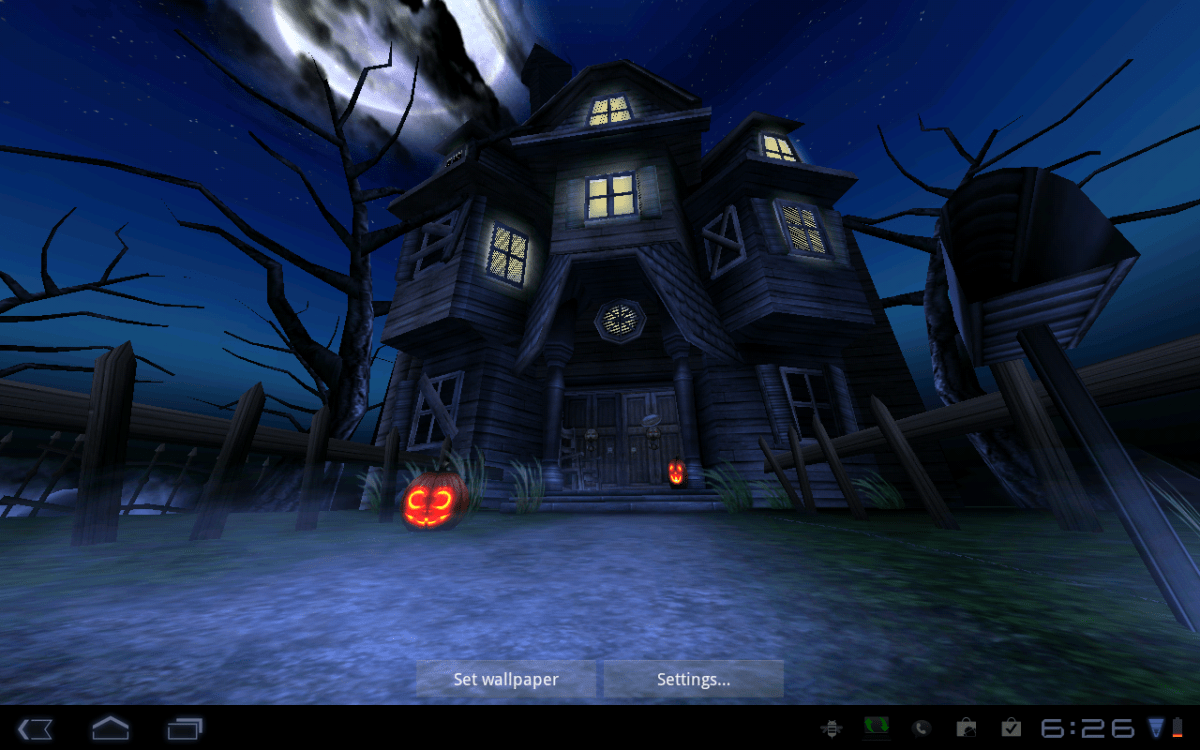 Forest Hd Live Wallpaper For Pc Android Wallpaper Review Haunted House Hd Android Central
