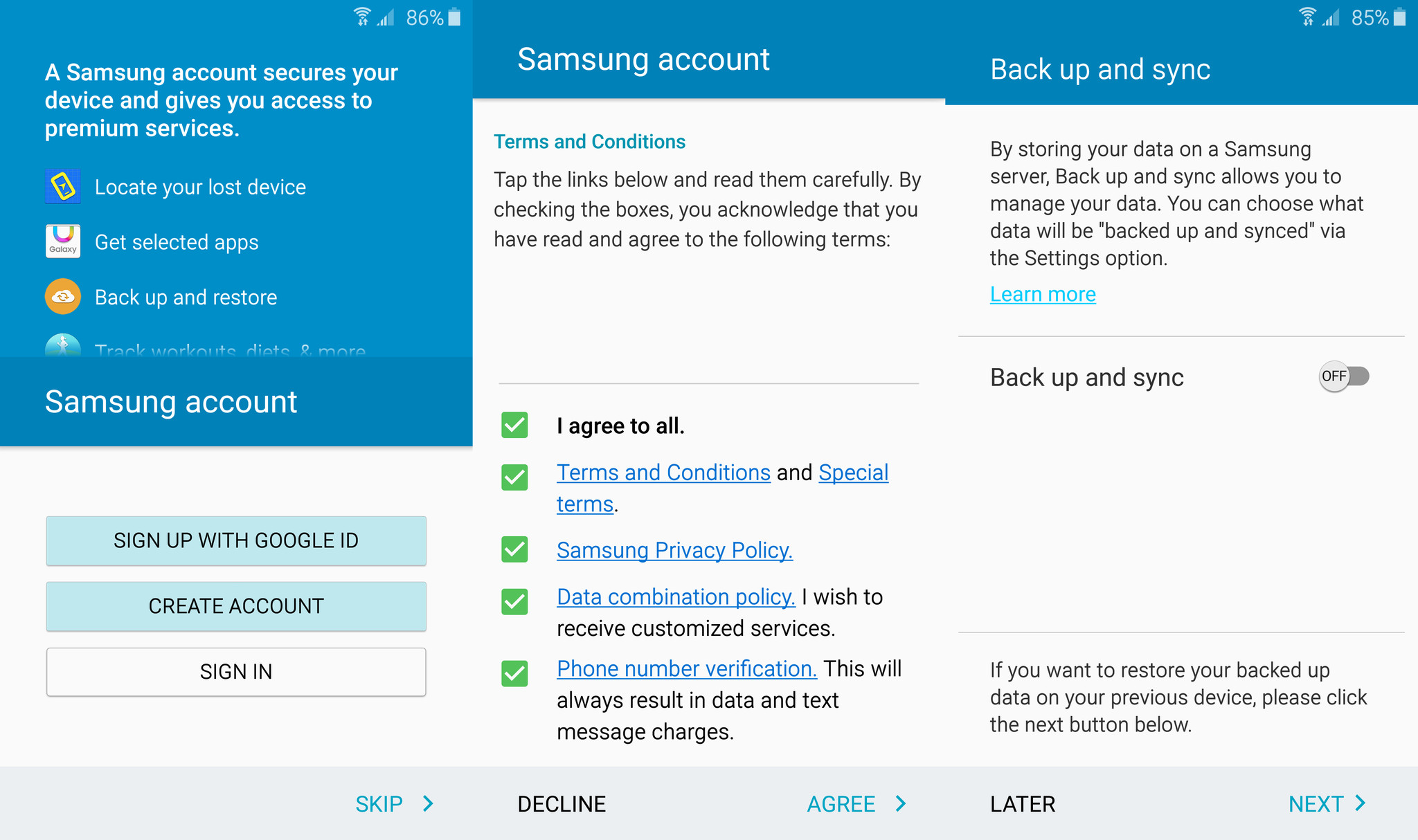 How to set up the samsung galaxy s6 and s6 edge android central