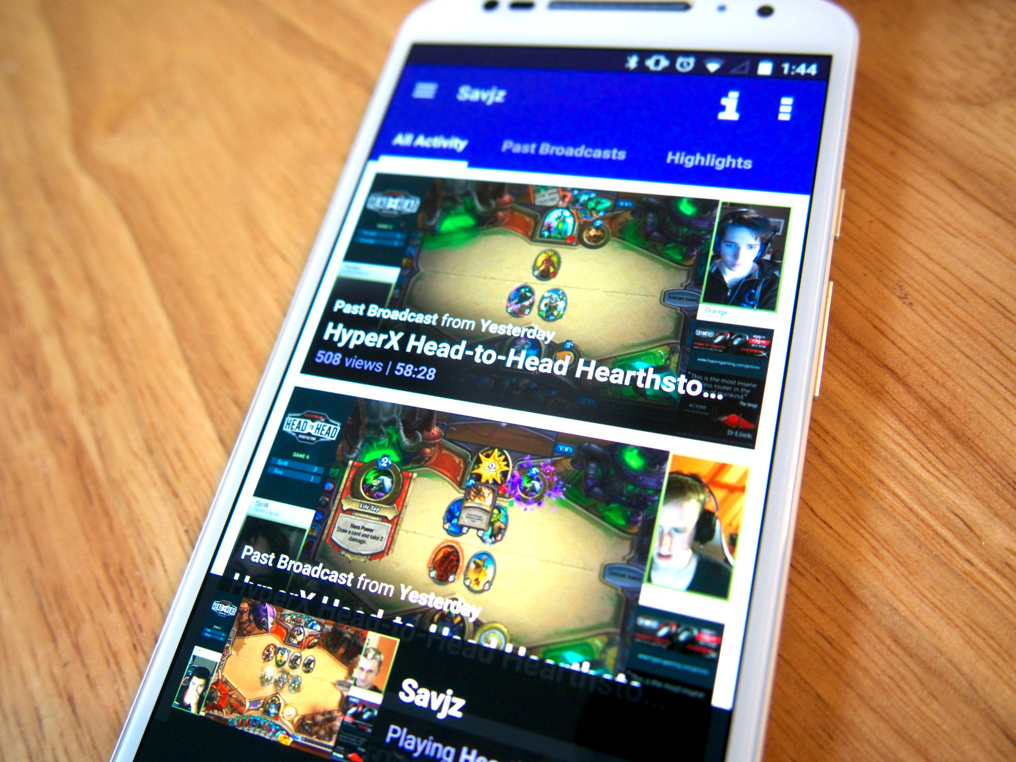 Twitch App Now Lets Users Watch Past Content From Their