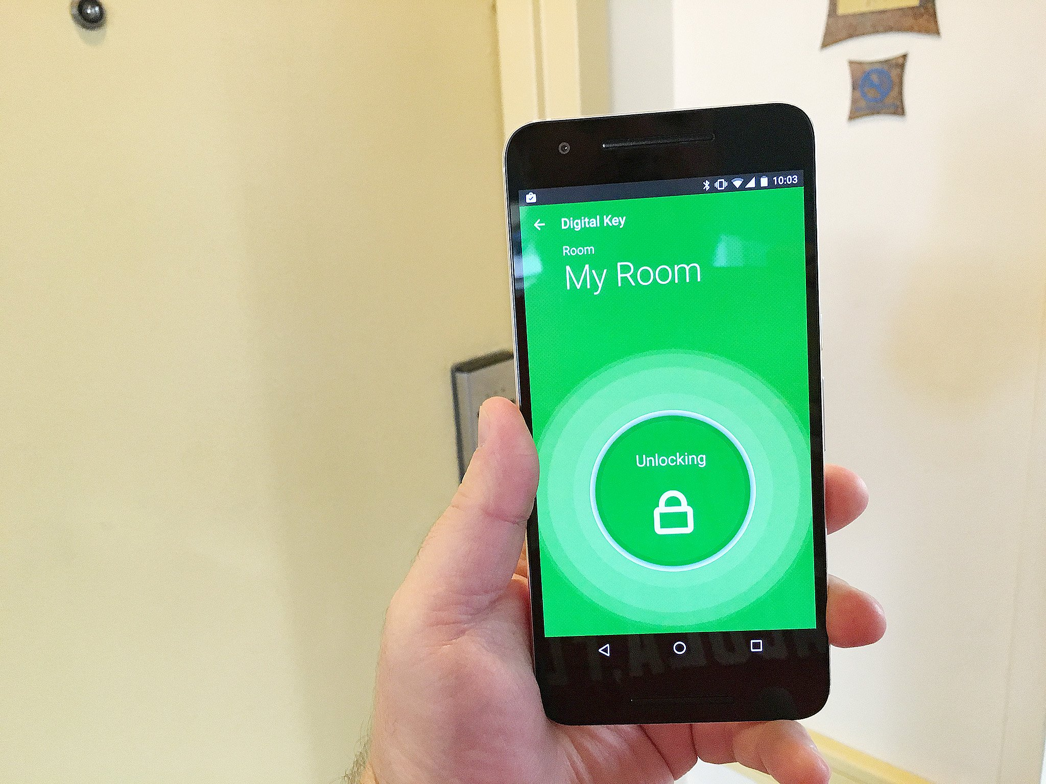 Using your phone as a hotel room key unlocks possibilities