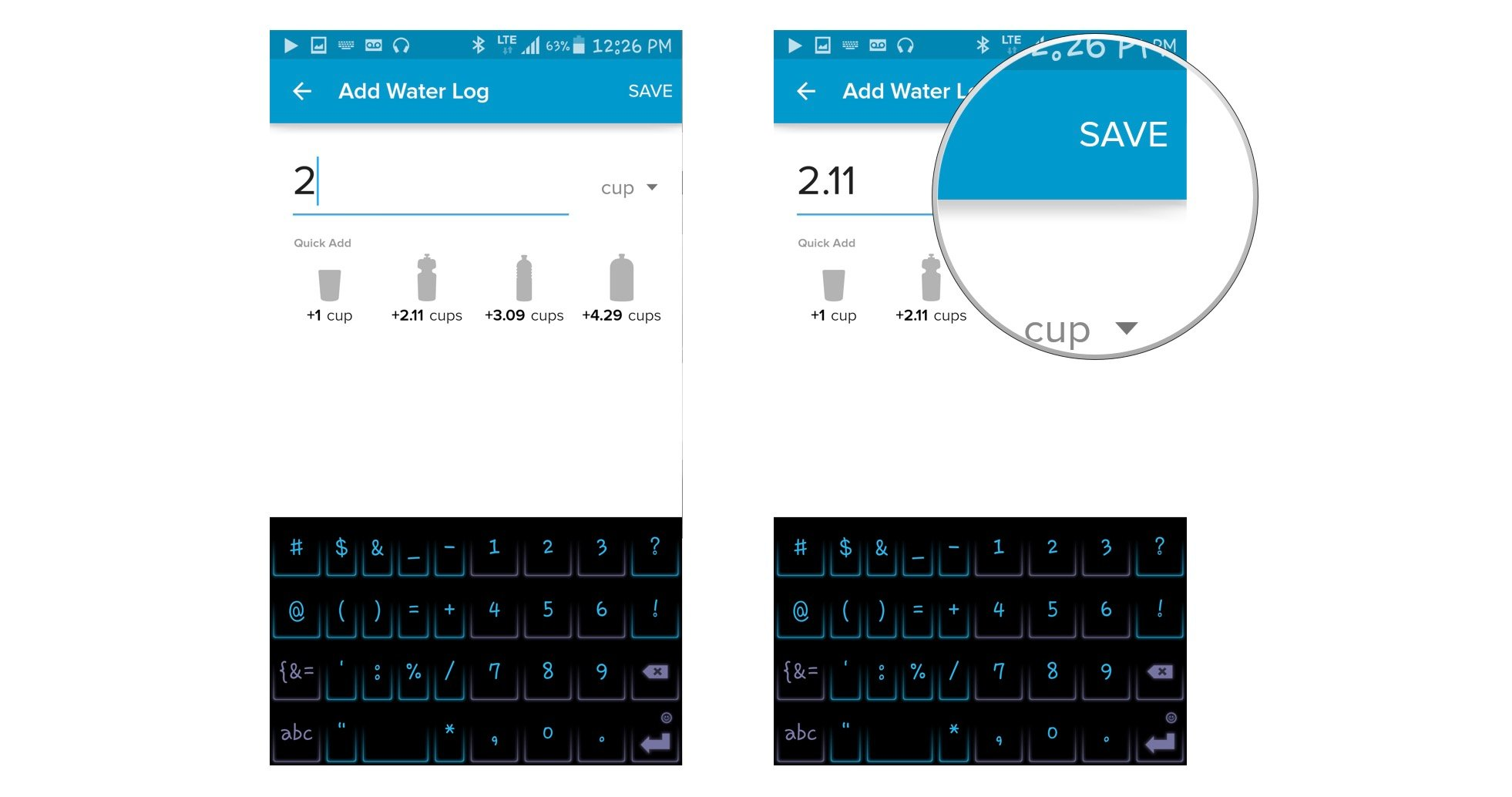 How to use the Dashboard in Fitbit for Android   Android ...