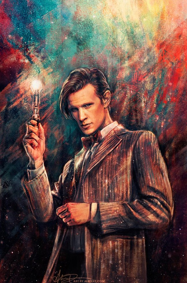 doctor_who__the_eleventh_doctor_by_alicexz-d7x5fx8 Grab your sonic and go for an adventure with these Doctor Who wallpapers! Android