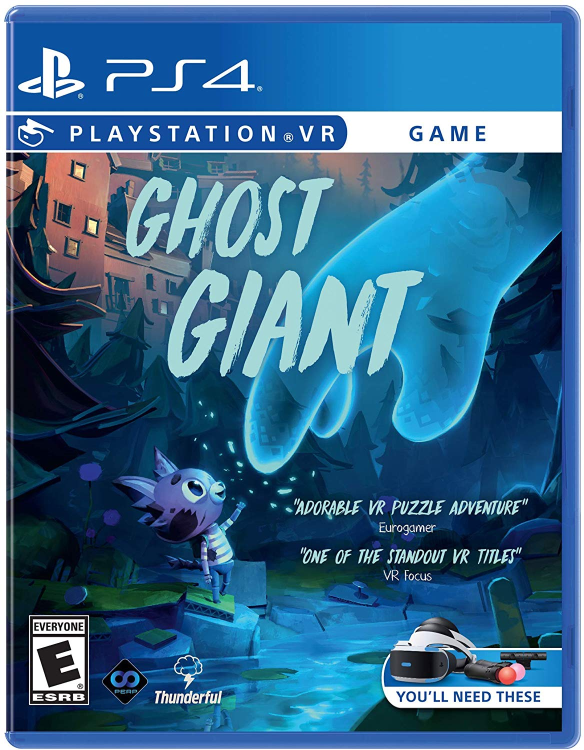 Ghost Giant Psvr Adorable Adventure