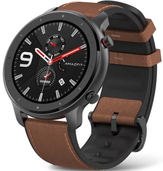 Selecting between the Amazfit GTR and Huwaei Watch GT Sport