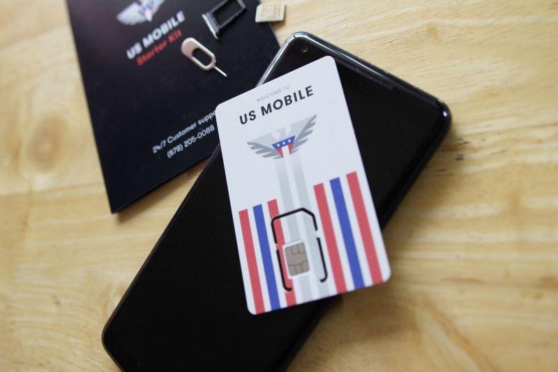 Téléphone avec carte SIM