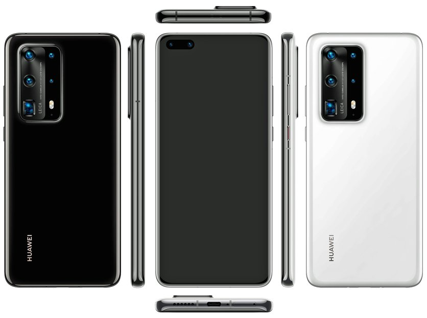 New Huawei P40 Pro Leak Reveals A Penta Camera Array