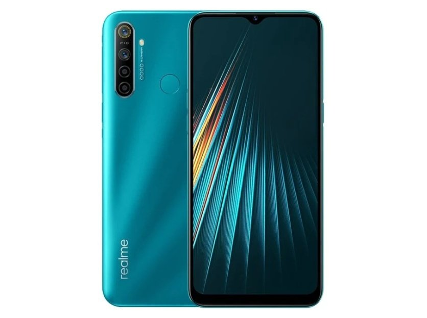 Realme 5i With Quad Rear Cameras 5000mah Battery Launches