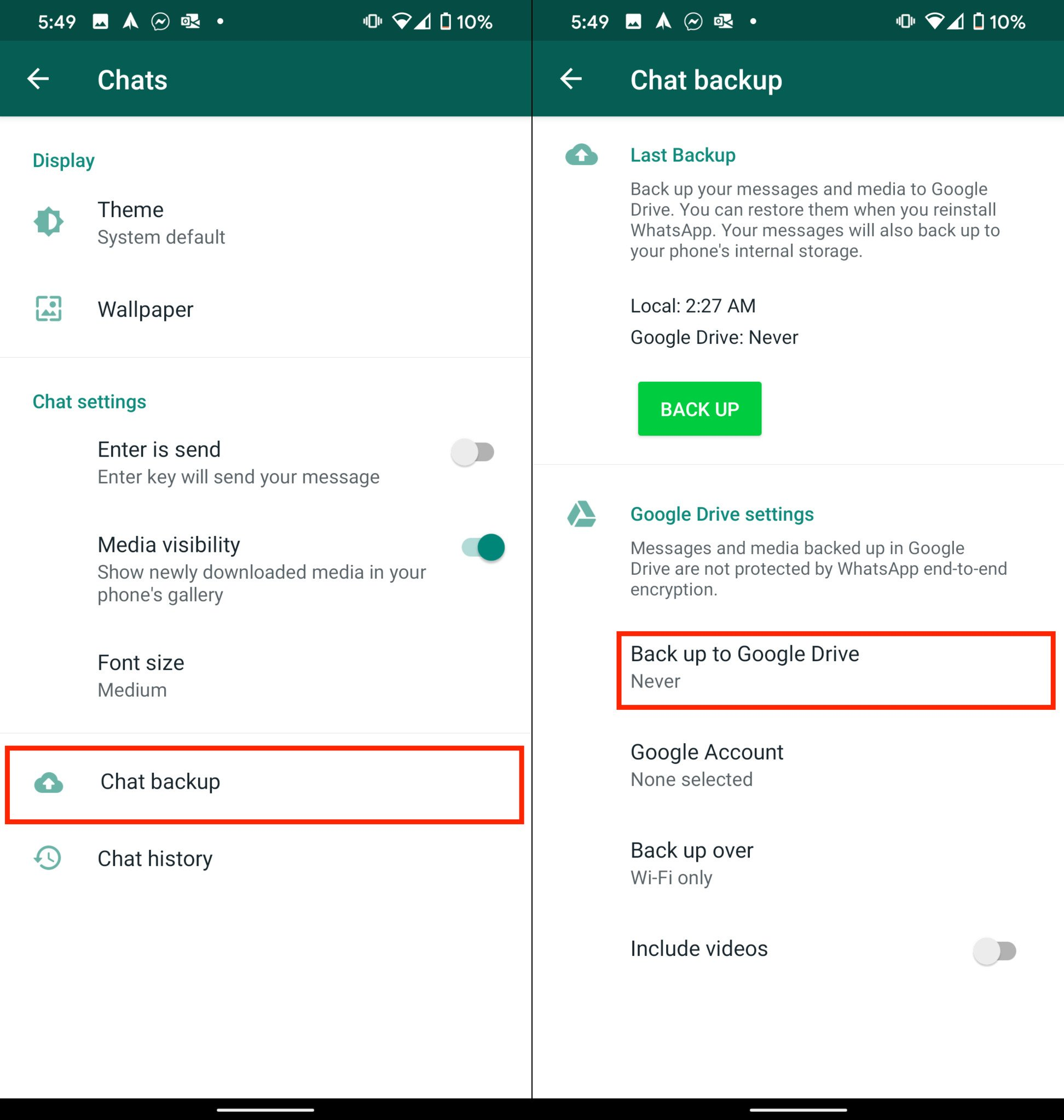 How to restore your WhatsApp chats from iPhone to Android | Android Central