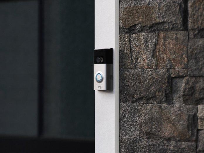 Ring Video Doorbell 3 Hero