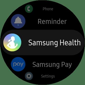 Galaxy Watch Active 2 Samsung  Health