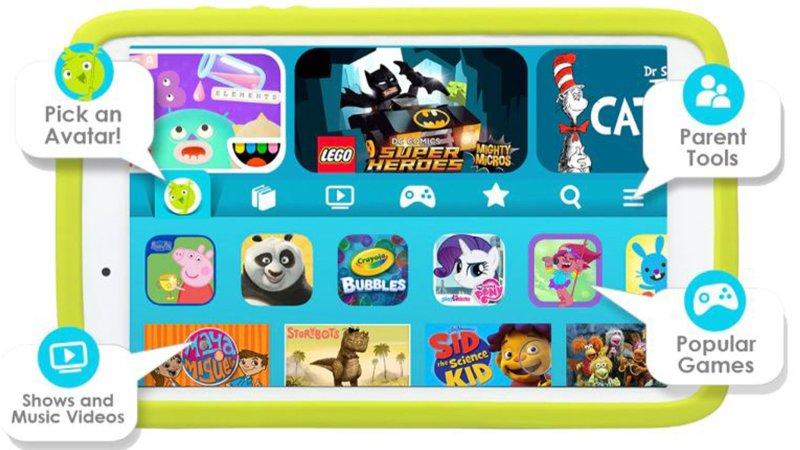 Samsung Tab A Kids Lifestyle
