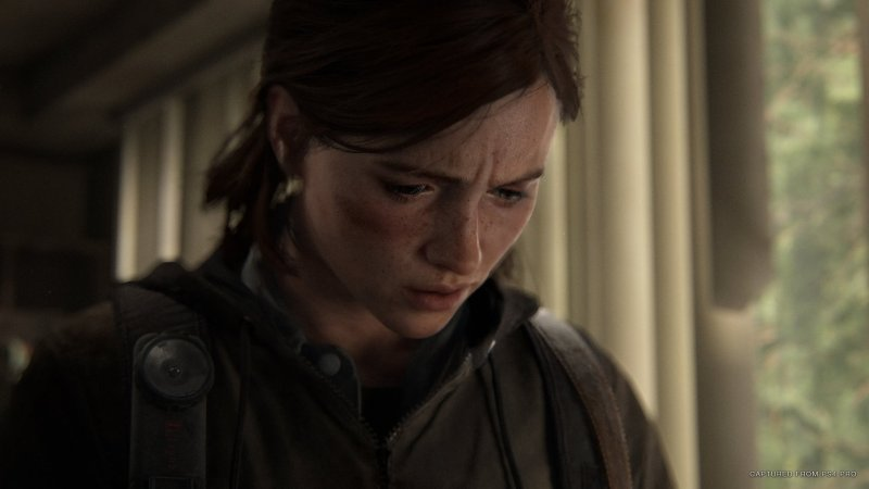 The Last Of Us Part Ii Ellie Closeup