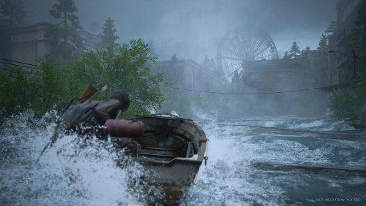 The Last Of Us Part Ii Ellie On Boat
