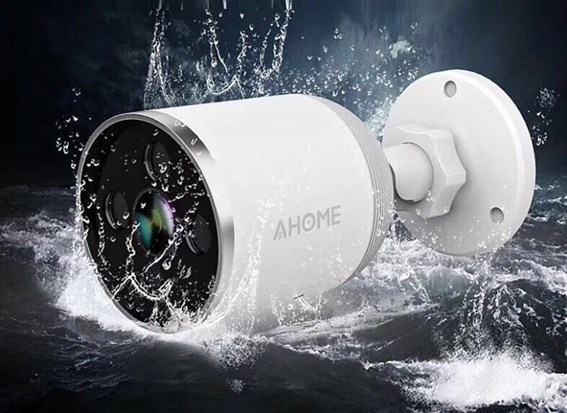 Ahome A1 Outdoor Security Camera Lifestyle