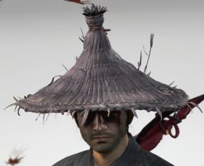 Ghost Of Tsushima Farmers Straw Hat Cropped