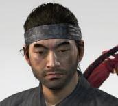 Ghost Of Tsushima Gosakus Headband Cropped