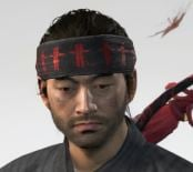 Ghost Of Tsushima Headband Of Fear Cropped