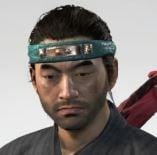 Ghost Of Tsushima Serpent Strike Headband Cropped