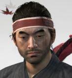 Ghost Of Tsushima Warriots Sunset Headband