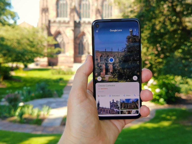 Pixel 4a Alex Google Lens