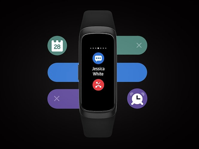 Galaxy Fit 2 Notifications
