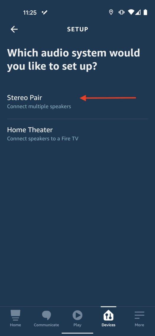Echo Speaker Pairing Step 4