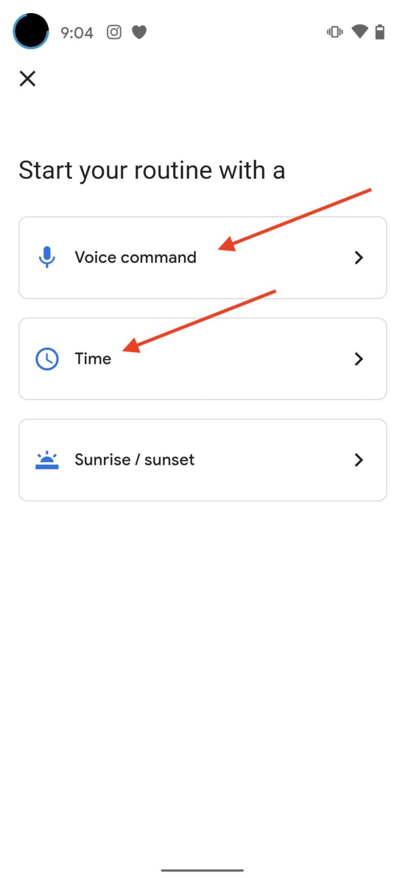 Create Google Assistant Routine Step 4-0