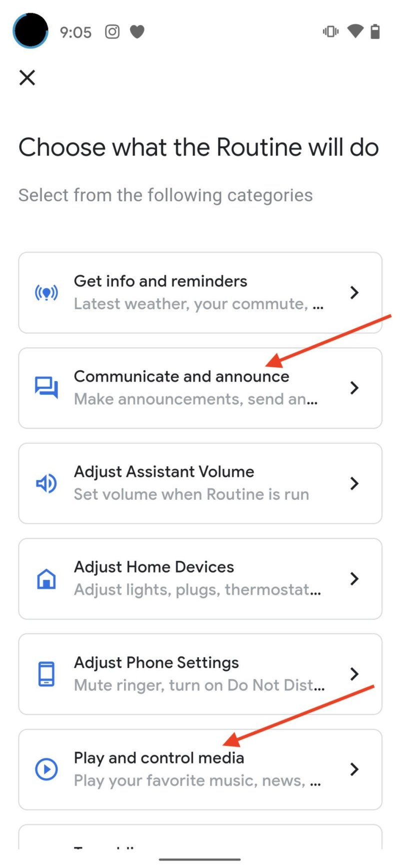 Create Google Assistant Routine Step 6