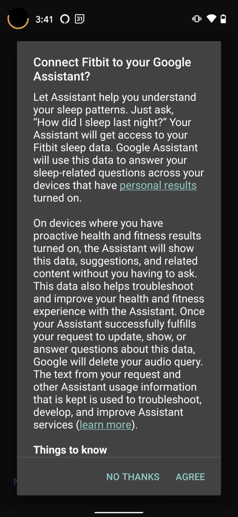 Fitbit Versa 3 Google Assistant Step 7