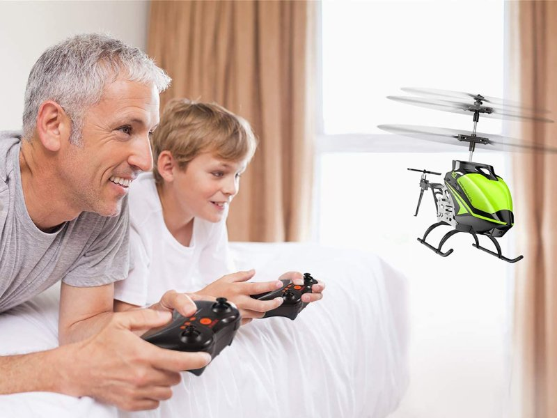 Syma S39 Rc Helicopter Lifestyle