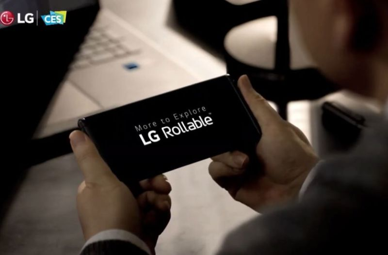 Lg Rollable Phone Teaser Ces