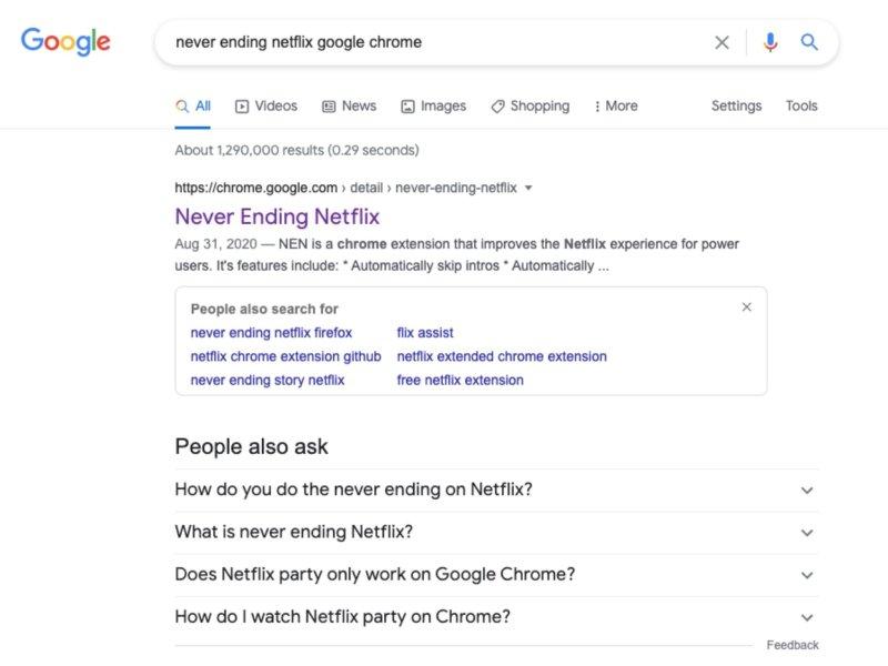 Never Ending Netflix