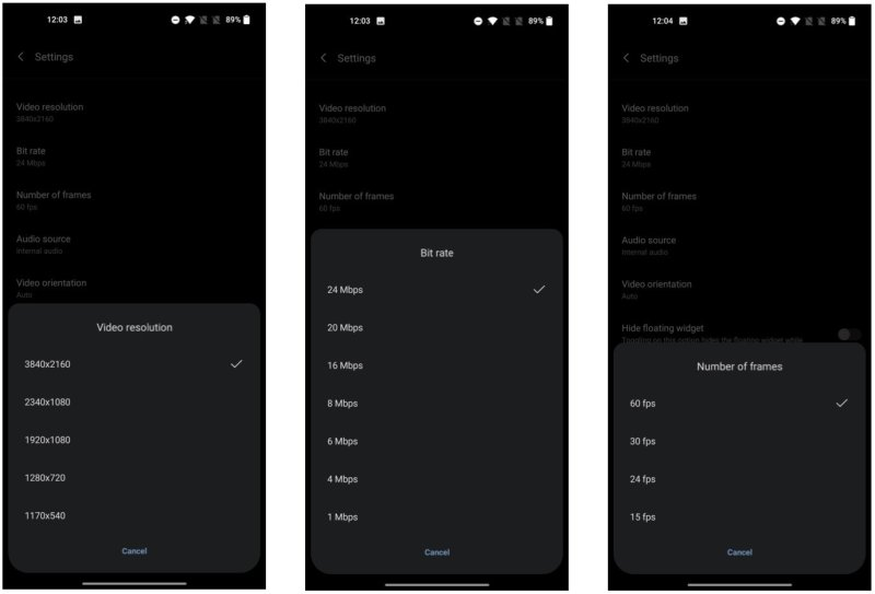 How to record, on the screen of your phone OnePlus