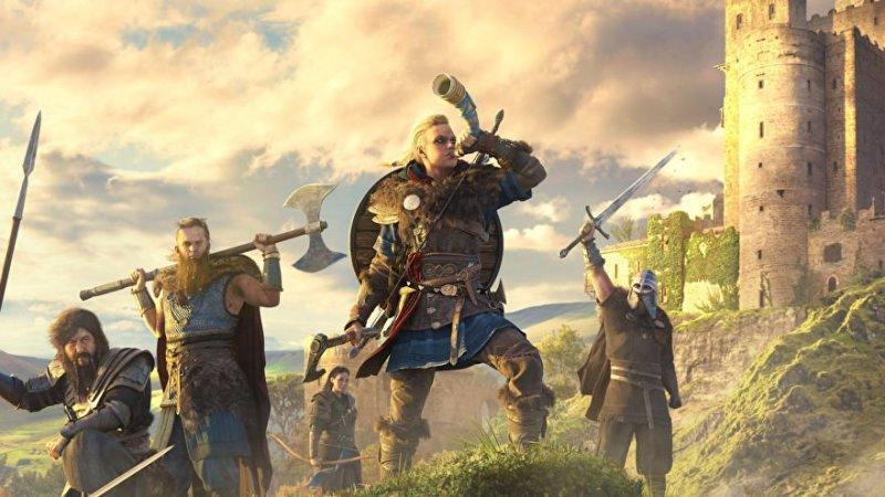 Assassins Creed Valhalla Eivor And Raiders