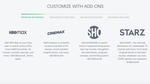 Hulu Premium Network