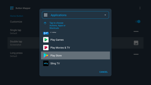 How to access the Google Play Store on Google TV