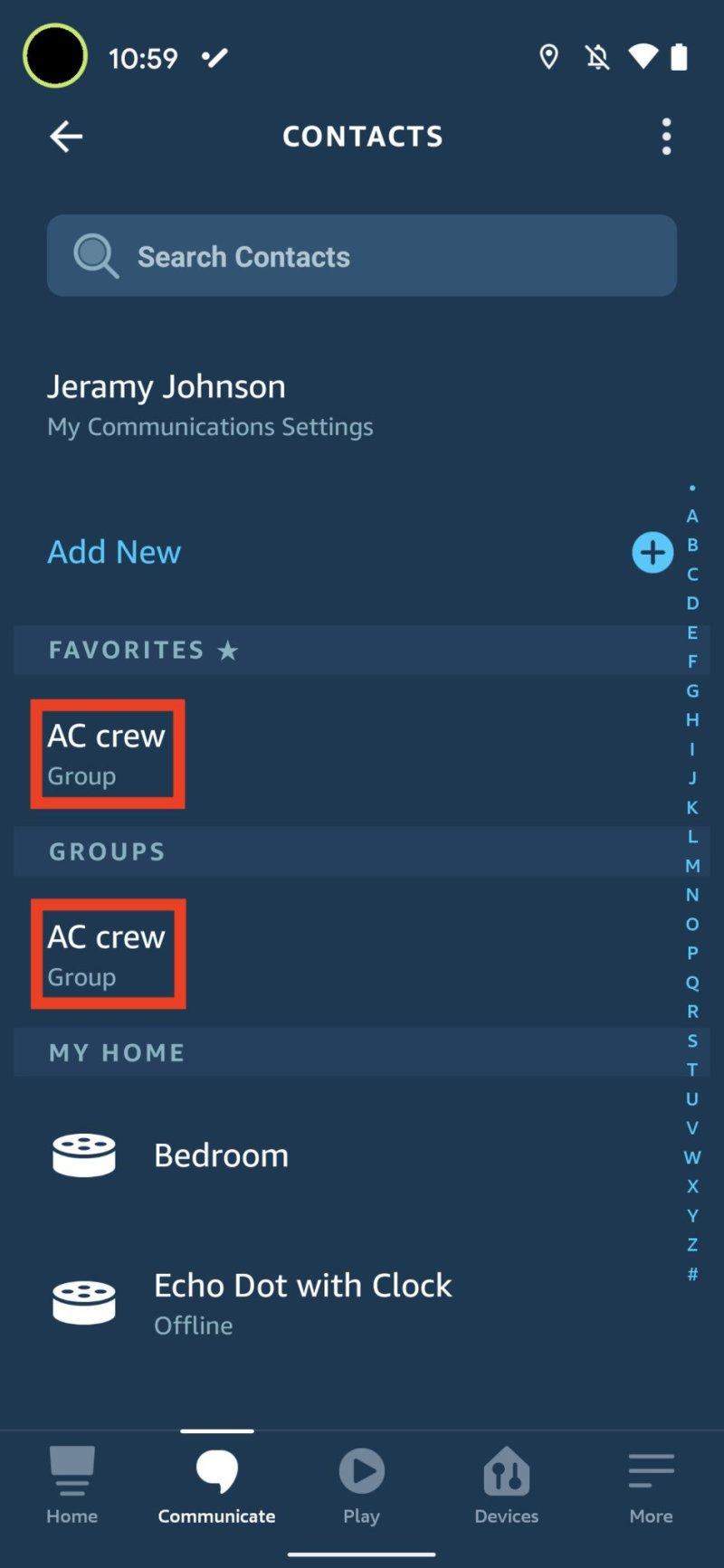 Alexa Group Calling 9