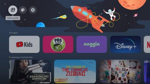 Chromecast Google Tv Kids Profile Screenshot