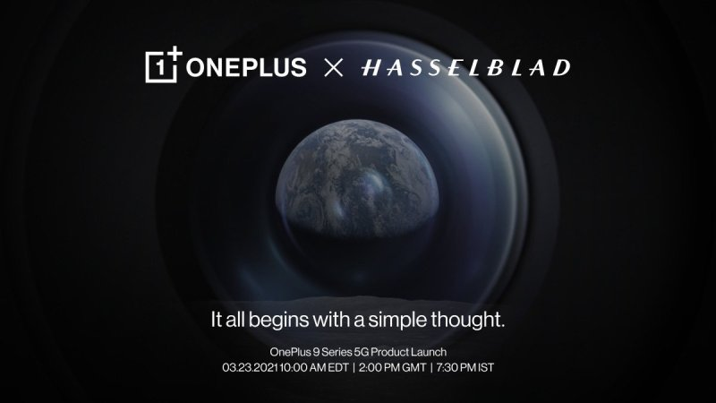 OnePlus 9 Hasselblad Launch Banner