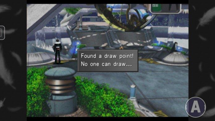 Final Fantasy VIII Draw Point