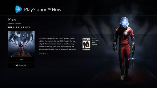 Playstation Now Pc Prey