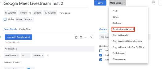 How To Livestream Google Meet 7