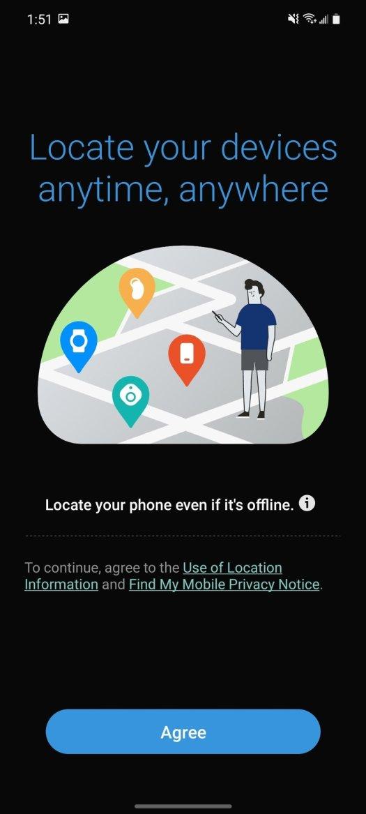 Samsung Findmydevice App 6