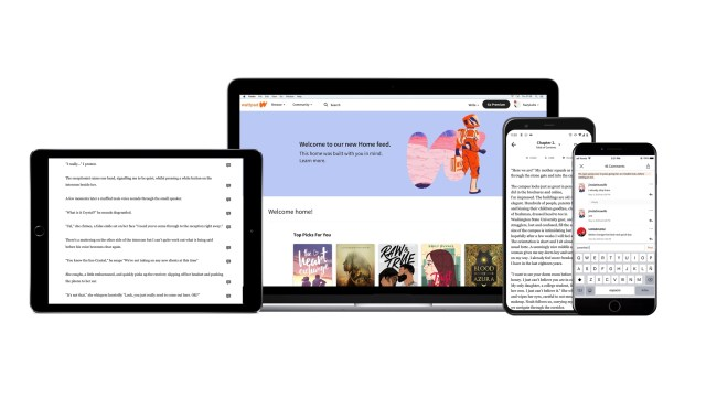 Wattpad Product Alldevices