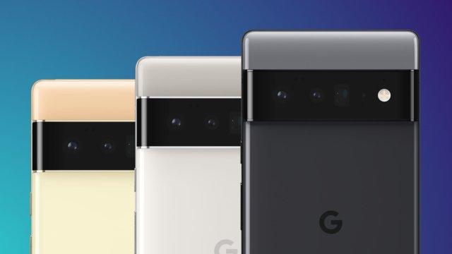 Google Pixel 6 Pro Colors Side By Side