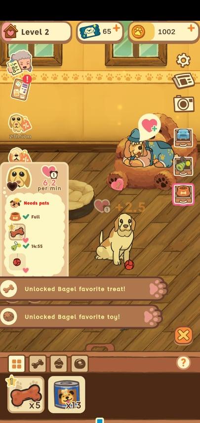 Old Friends Dog Game Bagel Treats