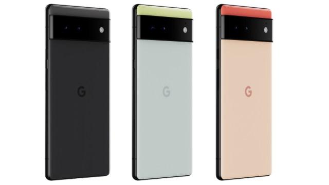 Pixel 6 Group Image Transparent