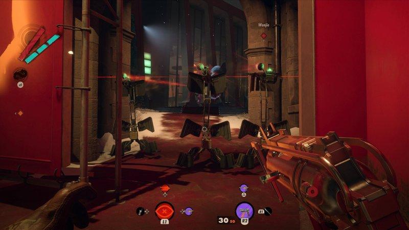 Deathloop Screenshot Turrets