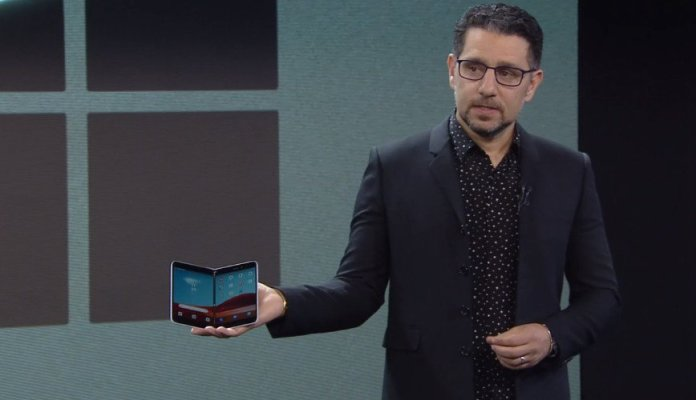 Surface Duo unveiled: A folding Surface phone that runs Android