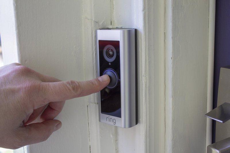 Ring Video Doorbell Pro 2 Button Press
